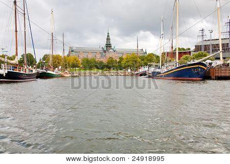 Nordische Museum von Meer, Stockholm anzeigen