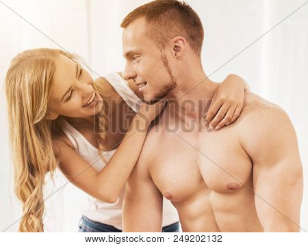 Guy With Naked Torso With