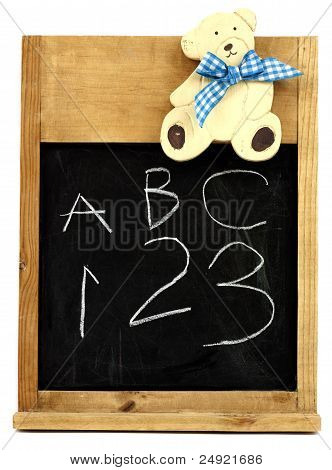 Child's blackboard