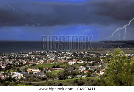 Stormy San Clemente