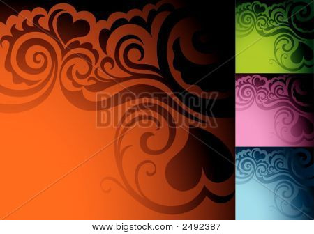 Love Abstract Background.Eps