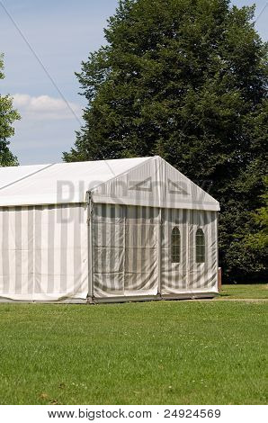A party or event tent