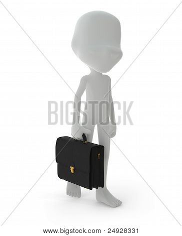 3D Character : Businessman Concept