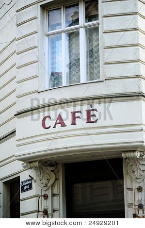 French Cafe In Vienna
