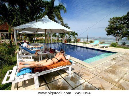 Poolside Sumbawa