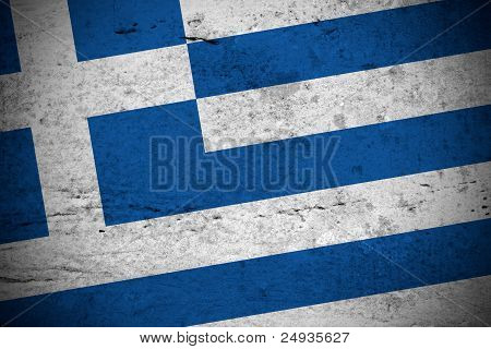 Greek Vintage Flag