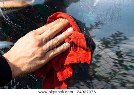 Washing Car Detail