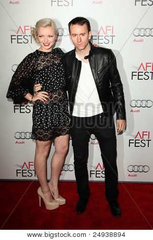 LOS ANGELES- NOV 3: Francesca Eastwood, Tyler Shields arrives at the AFI FEST 2011 Presented By Audi -