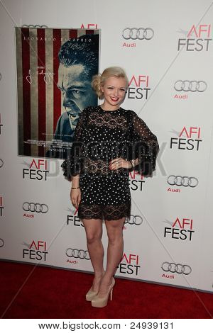 LOS ANGELES - NOV 3:  Francesca Eastwood arrives at the AFI FEST 2011 Presented By Audi -
