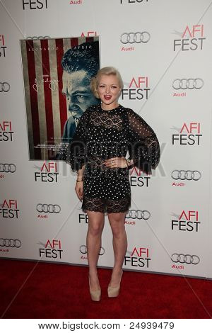 """LOS ANGELES - 3 de novembro: Francesca Eastwood chega a AFI FEST 2011 apresentado pela Audi - """"J. Edgar"""""""
