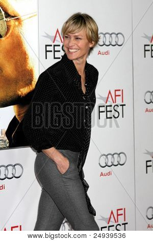 "LOS ANGELES - NOV 5:  Robin Wright arrives at the AFI FEST 2011 Gala Screening of ""Rampart"" at Grauman's Chinese Theater on November 5, 2011 in Los Angeles, CA"