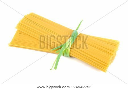 Bunch Of Raw Spaghetti