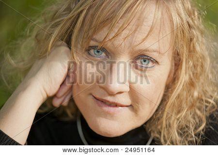 Beautiful Blond Woman