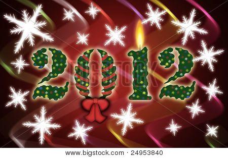 2012 celebration background