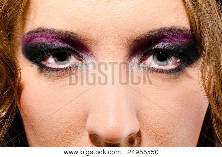 glam rock woman
