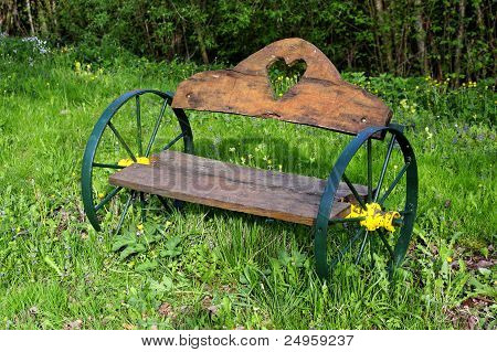 Wheeled Bench