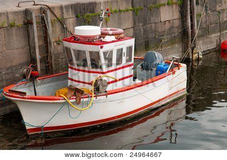 Cute Small  Fishboat