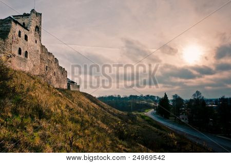 Ruined Castle On The Hill