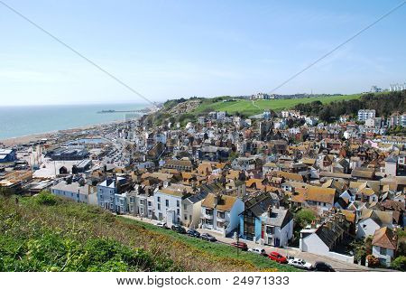 Hastings Old Town, England