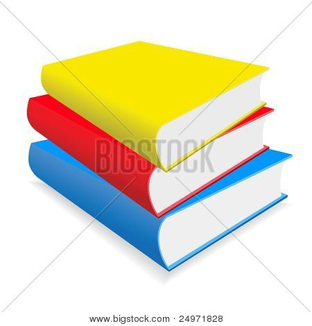 The Books On A Table