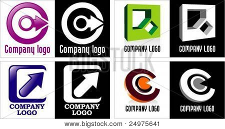 Four logotypes.