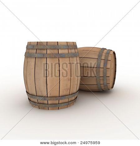 dos barricas