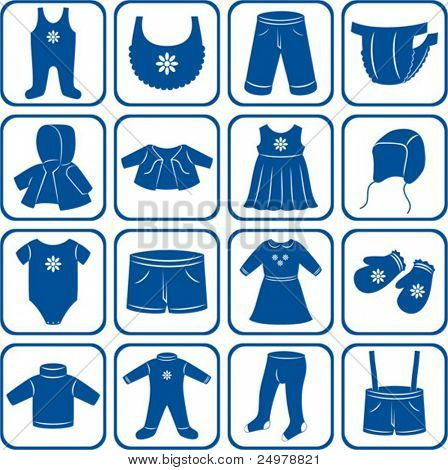 Child clothes set.