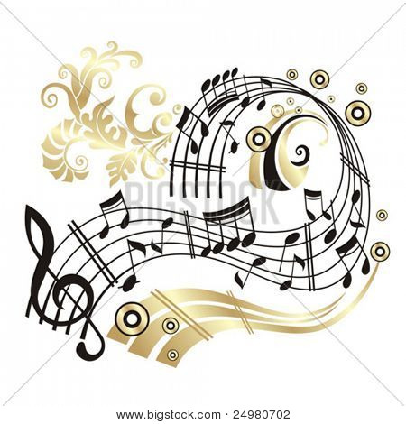 Nota de música.