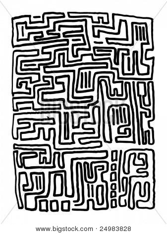 lost in a maze labyrinth