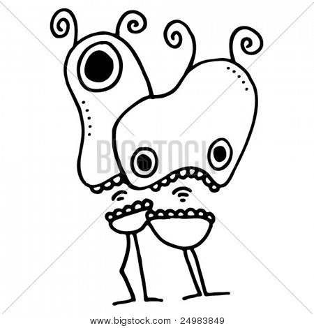Two freaks doodles