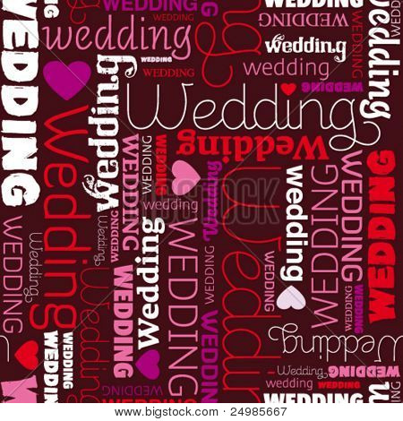 Wedding card invitation background pattern in vector