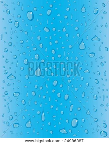 fresh water drops