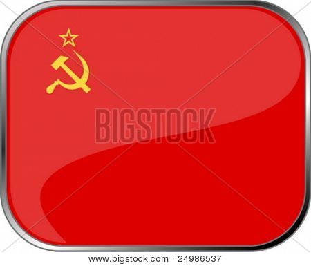 Soviet Union flag icon with official coloring