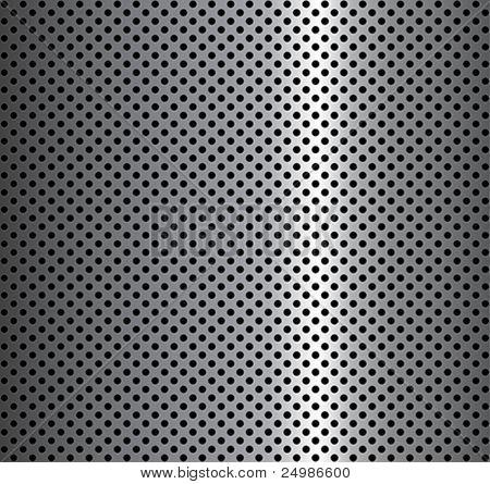Metall Hintergrund mit Kreisen