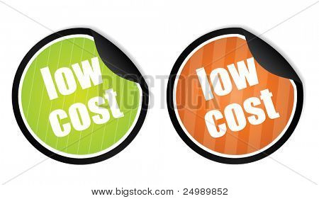 Low cost price tags