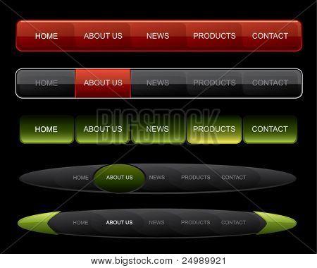 Website navigation on dark website