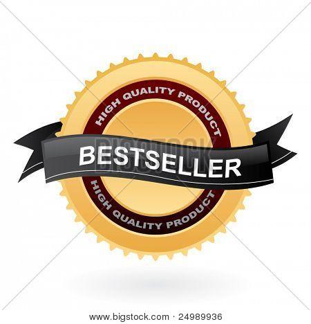 Bestseller vector symbol