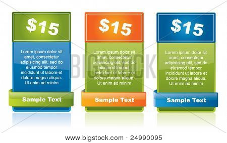 Special offer tags as web style elements