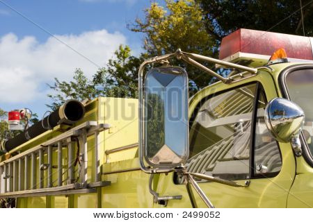 Motor de fogo amarelo