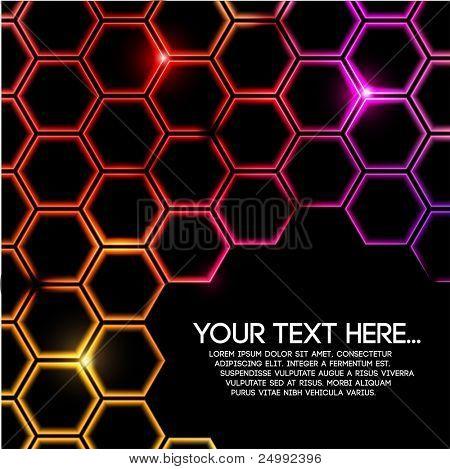 Resumen Antecedentes geométrica colorido digital