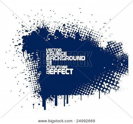 fundo abstrato azul grunge