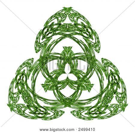 Irish Shamrock Motif