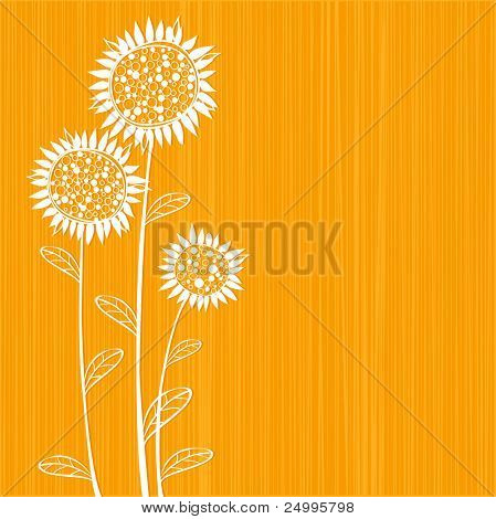 Sunflowers design
