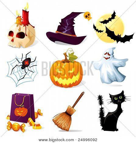 Halloween-Symbole