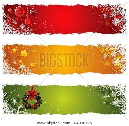 Christmas Banner festlegen