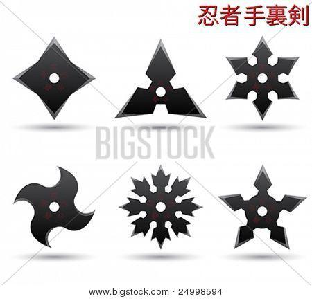 Estrellas ninja