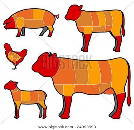 carne de corte