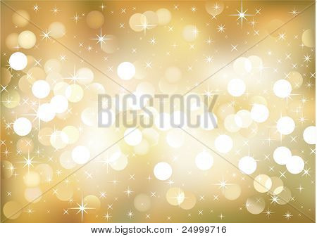 Vector background defocused lights, no size limit. proportion of A4 format horizontal