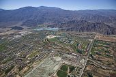 La Quinta, California and surrounding Coachella Valley poster