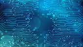 Abstract Technology Background, Circuit Board Background, Cyberspace Background, Virtual Technology  poster